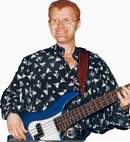Steve Hall - amazing bass player & backing vocals